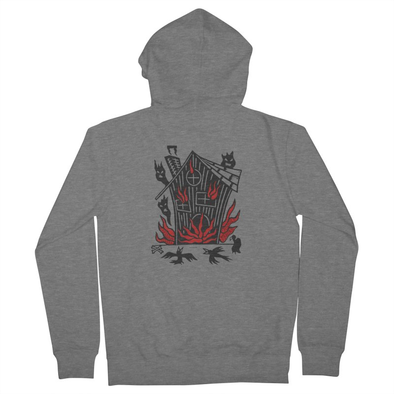 Before it Falls Apart Men's Zip-Up Hoody by Vanessa Peters's Artist Shop
