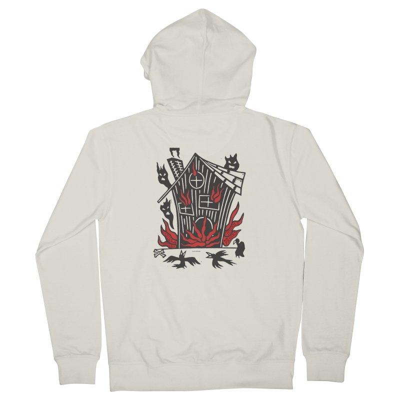 Before it Falls Apart Men's French Terry Zip-Up Hoody by vanessapeters's Artist Shop