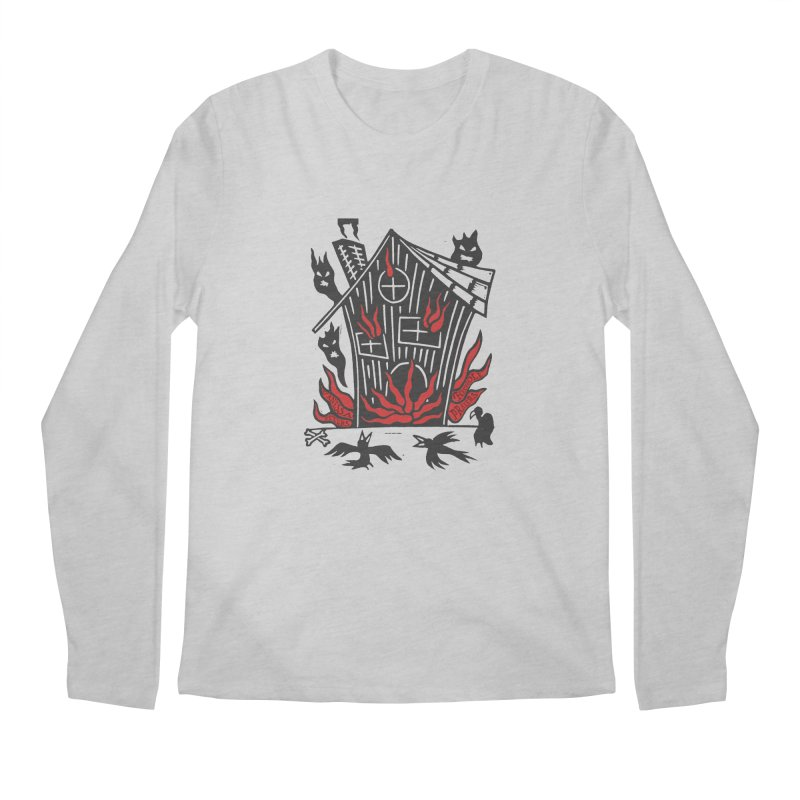 Before it Falls Apart Men's Regular Longsleeve T-Shirt by Vanessa Peters's Artist Shop