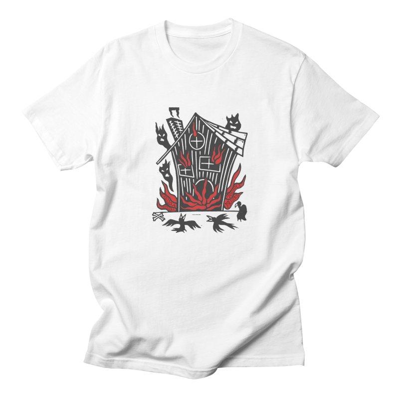 Before it Falls Apart Men's Regular T-Shirt by vanessapeters's Artist Shop