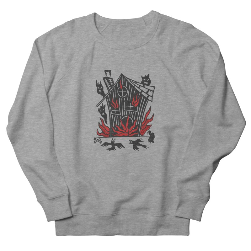 Before it Falls Apart Women's French Terry Sweatshirt by Vanessa Peters's Artist Shop