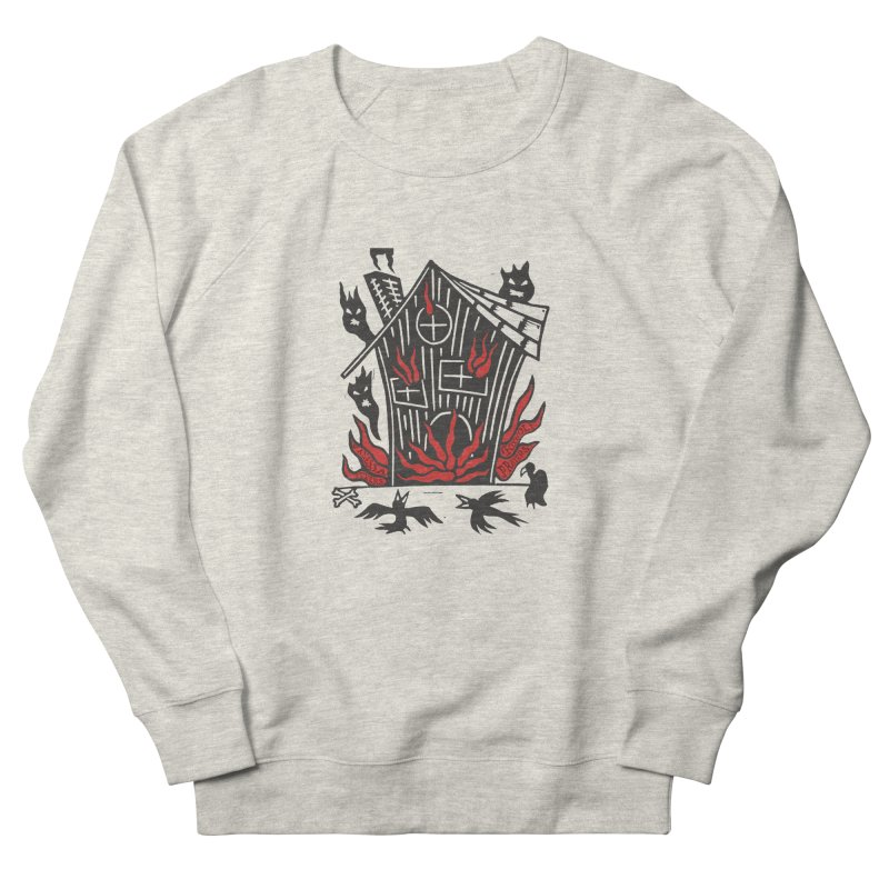 Before it Falls Apart Women's French Terry Sweatshirt by vanessapeters's Artist Shop