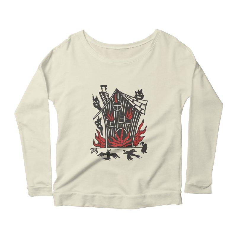 Before it Falls Apart Women's Scoop Neck Longsleeve T-Shirt by Vanessa Peters's Artist Shop