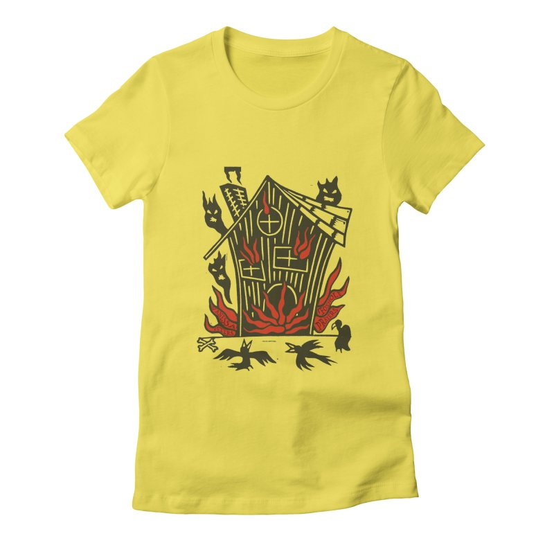 Before it Falls Apart Women's T-Shirt by Vanessa Peters's Artist Shop