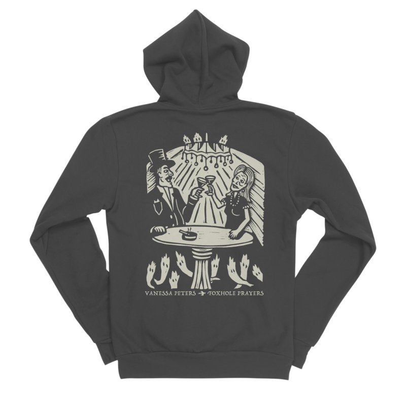 Just One of Them Women's Sponge Fleece Zip-Up Hoody by Vanessa Peters's Artist Shop