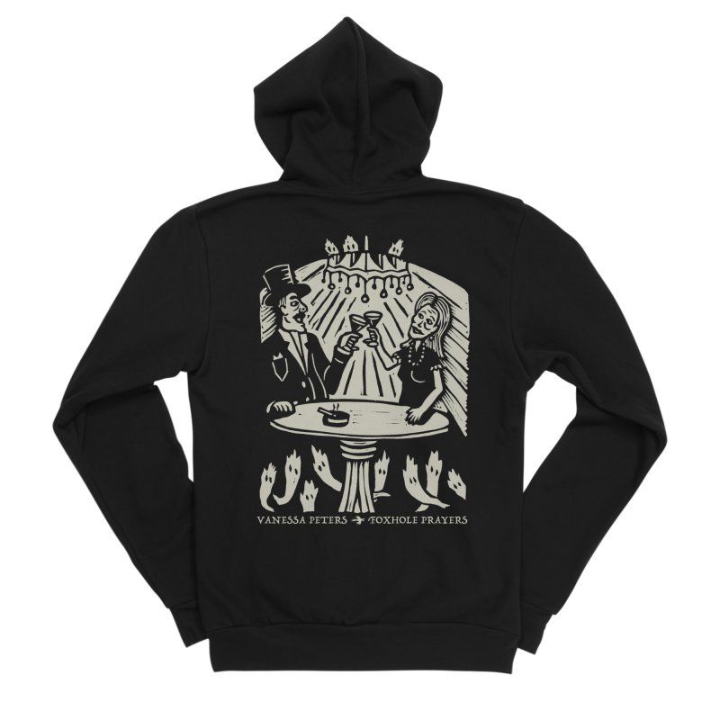 Just One of Them Men's Sponge Fleece Zip-Up Hoody by Vanessa Peters's Artist Shop