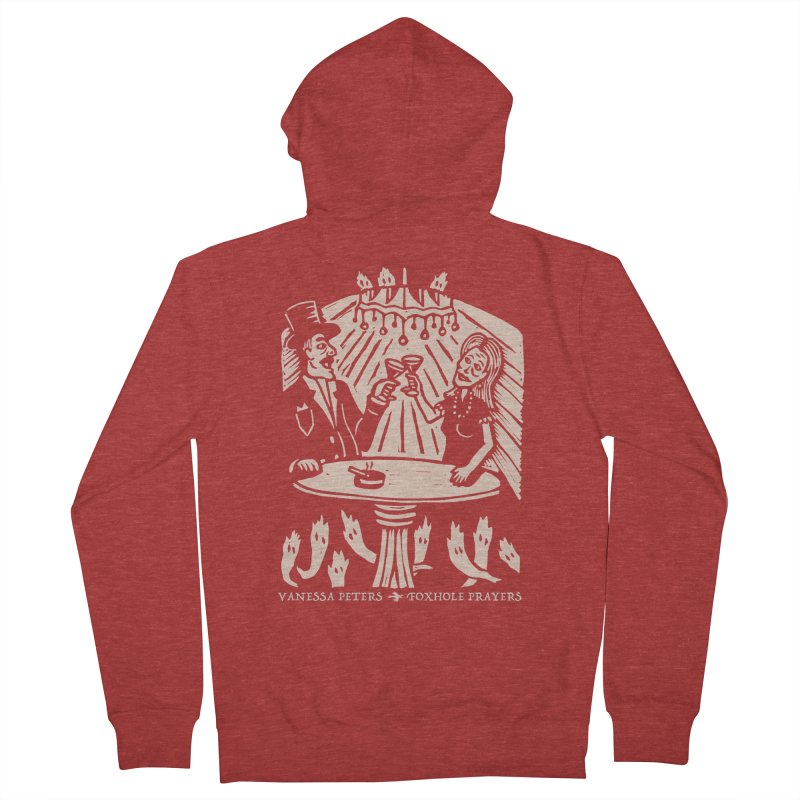Just One of Them Women's French Terry Zip-Up Hoody by Vanessa Peters's Artist Shop