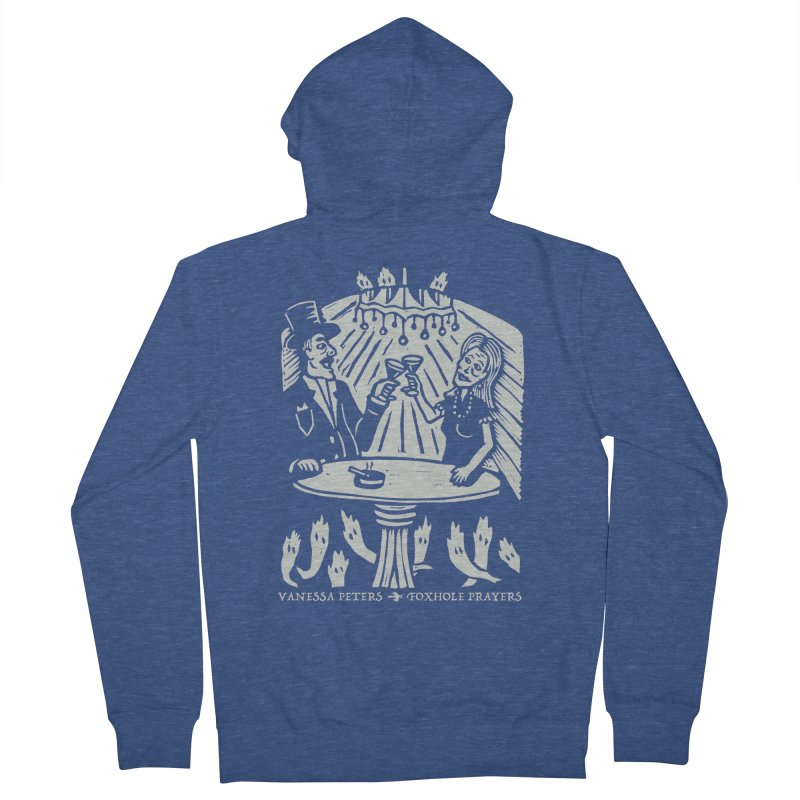 Just One of Them Men's French Terry Zip-Up Hoody by Vanessa Peters's Artist Shop