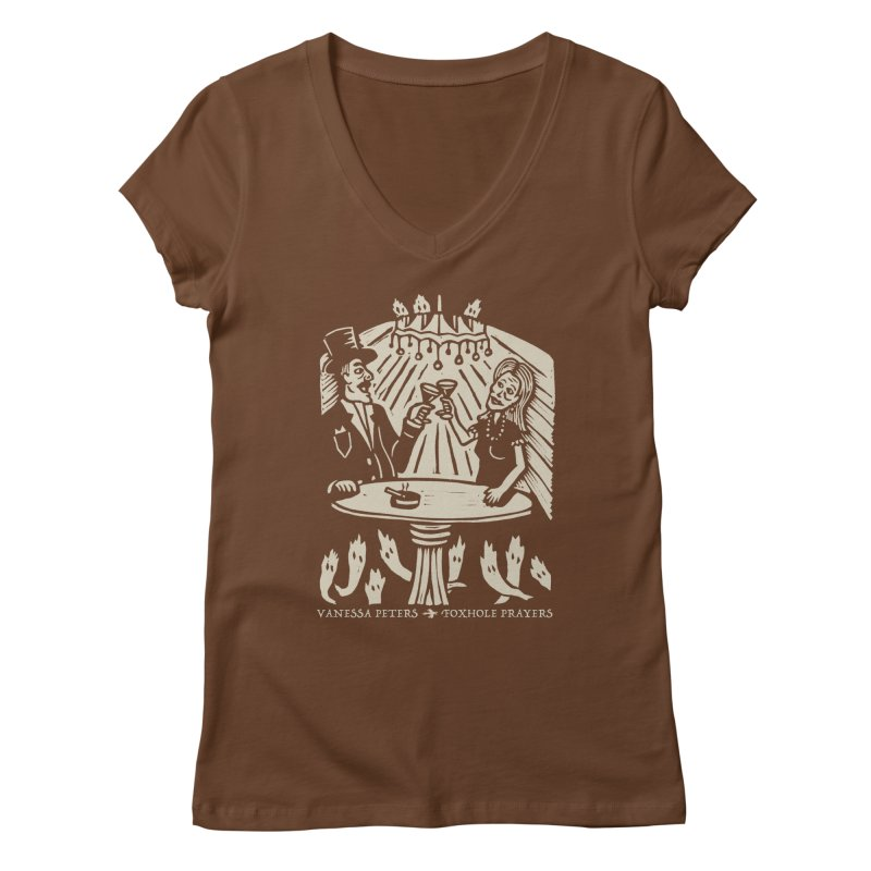 Just One of Them Women's Regular V-Neck by Vanessa Peters's Artist Shop