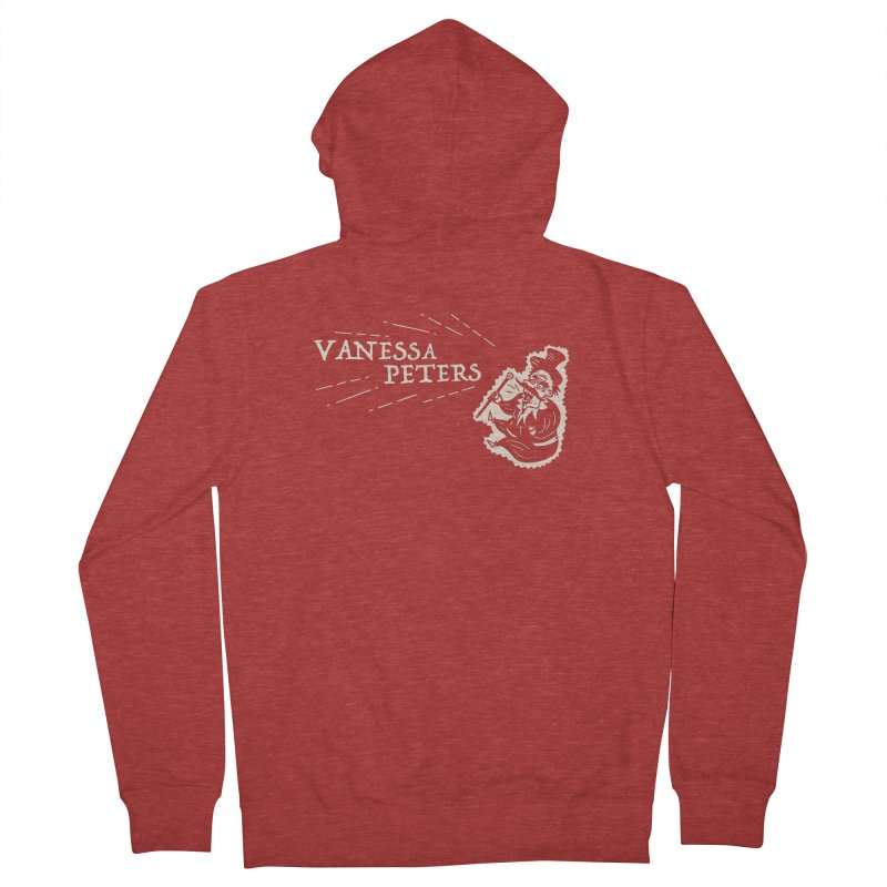 Carnival Barker Men's French Terry Zip-Up Hoody by Vanessa Peters's Artist Shop