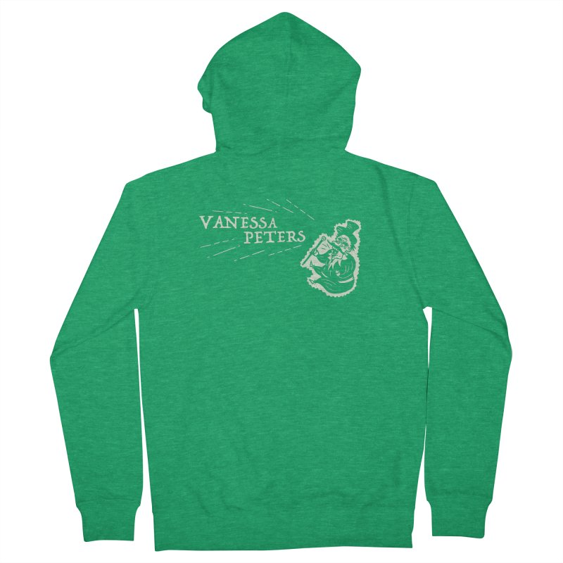 Carnival Barker Women's French Terry Zip-Up Hoody by Vanessa Peters's Artist Shop