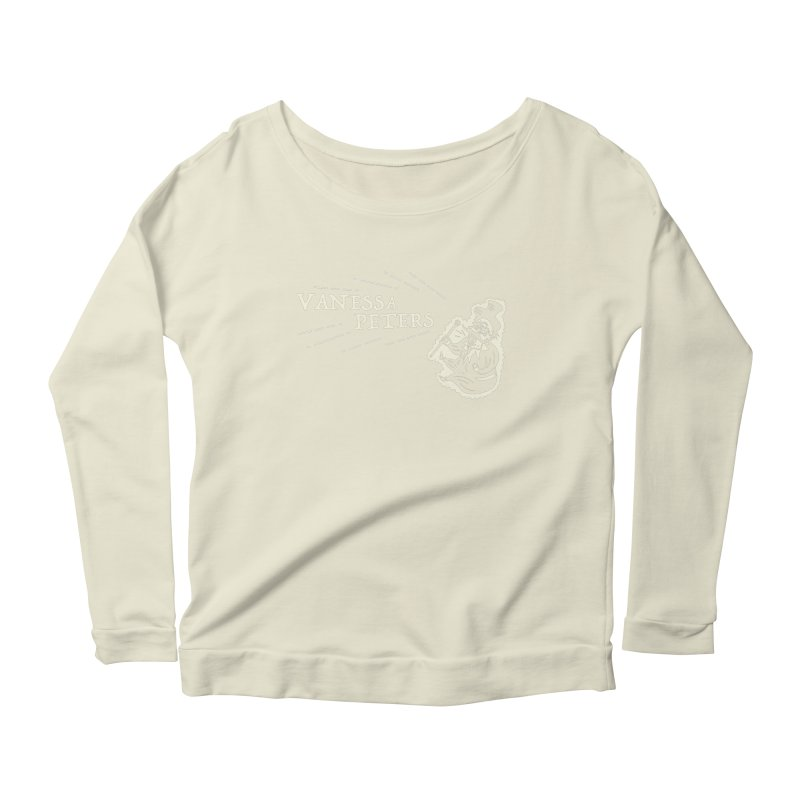 Carnival Barker Women's Scoop Neck Longsleeve T-Shirt by Vanessa Peters's Artist Shop
