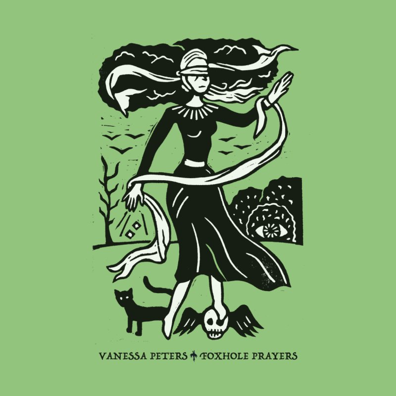 Lady Luck Women's V-Neck by Vanessa Peters's Artist Shop