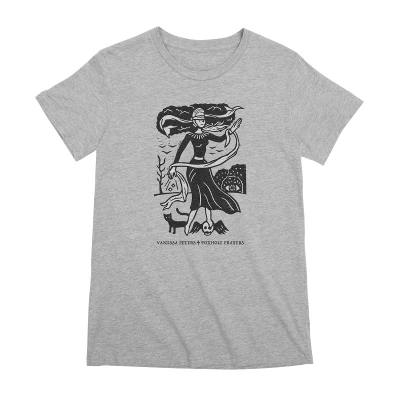 Lady Luck Women's Premium T-Shirt by Vanessa Peters's Artist Shop
