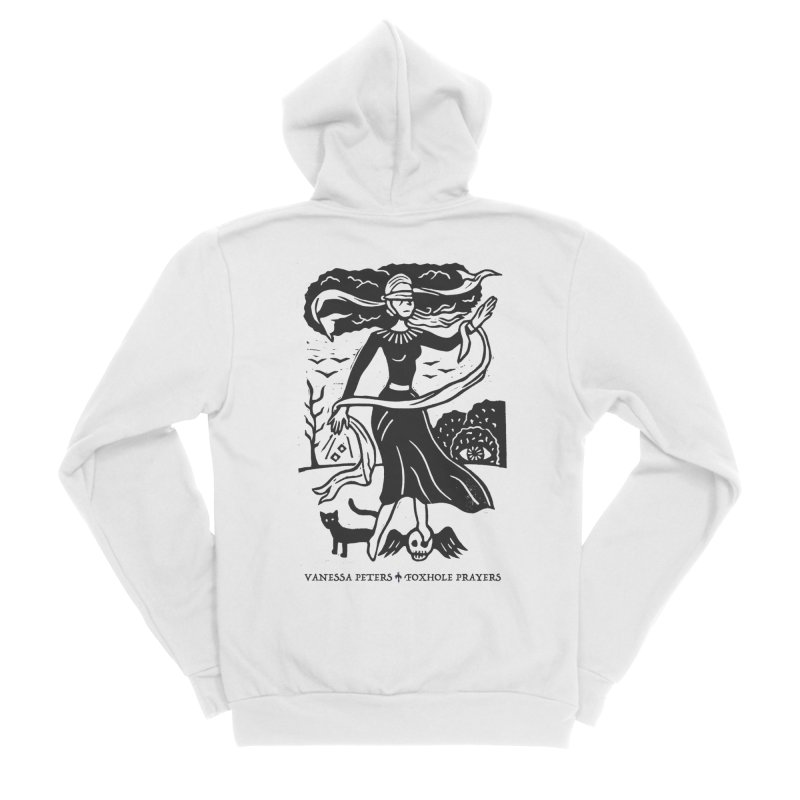 Lady Luck Women's Sponge Fleece Zip-Up Hoody by Vanessa Peters's Artist Shop