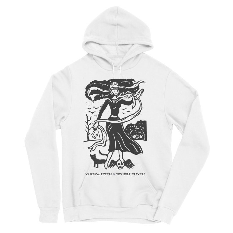 Lady Luck Men's Sponge Fleece Pullover Hoody by Vanessa Peters's Artist Shop