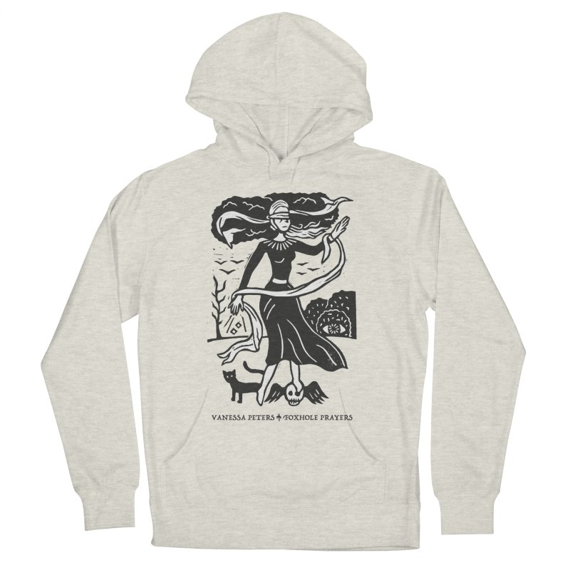 Lady Luck Women's French Terry Pullover Hoody by Vanessa Peters's Artist Shop