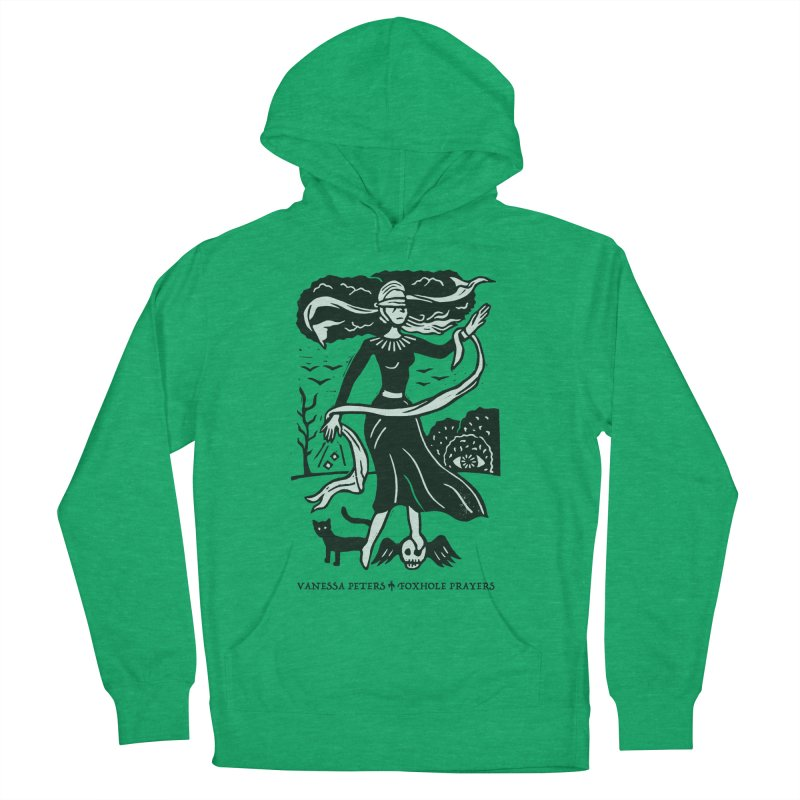 Lady Luck Men's French Terry Pullover Hoody by Vanessa Peters's Artist Shop