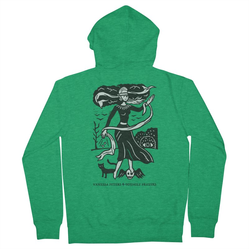 Lady Luck Men's Zip-Up Hoody by Vanessa Peters's Artist Shop