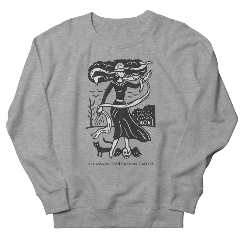 Lady Luck Women's French Terry Sweatshirt by Vanessa Peters's Artist Shop