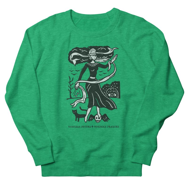 Lady Luck Men's French Terry Sweatshirt by vanessapeters's Artist Shop