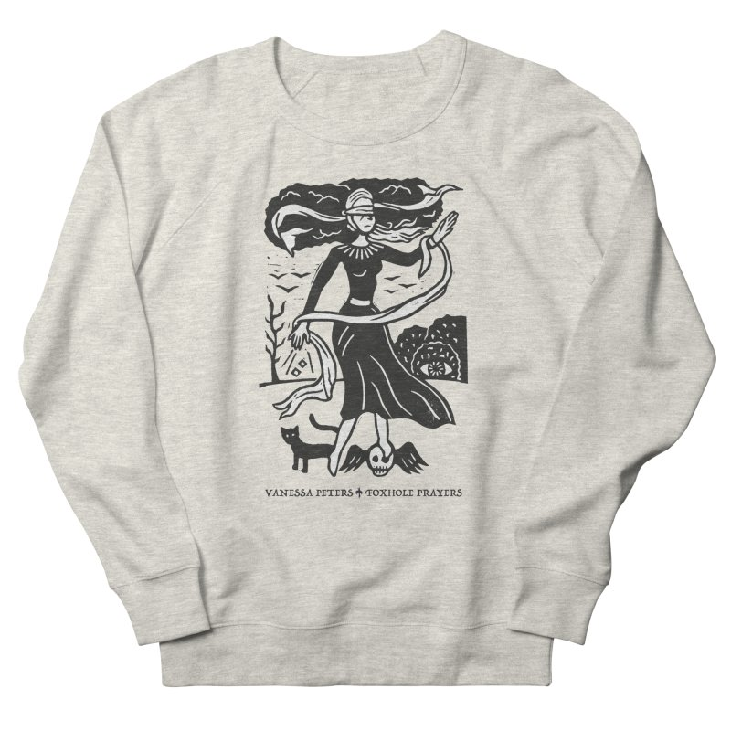 Lady Luck Men's French Terry Sweatshirt by Vanessa Peters's Artist Shop