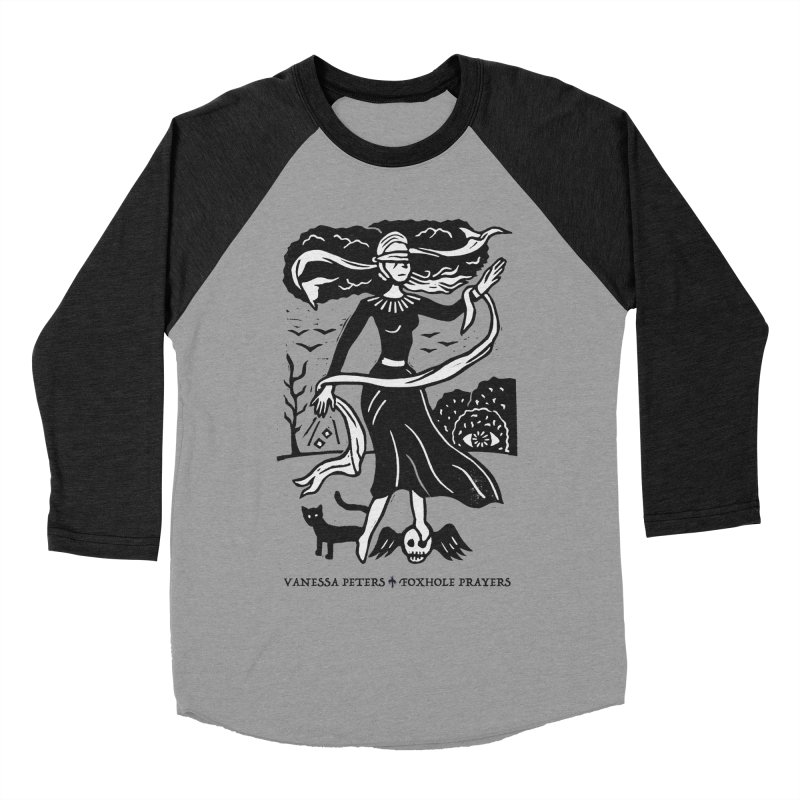 Lady Luck Women's Baseball Triblend Longsleeve T-Shirt by Vanessa Peters's Artist Shop