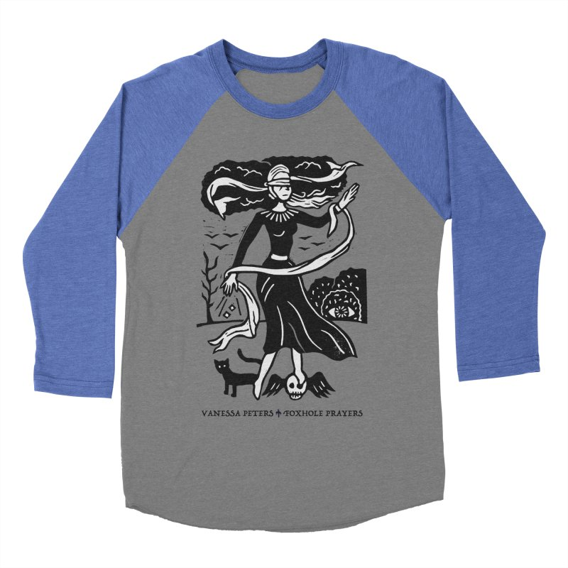 Lady Luck Men's Baseball Triblend Longsleeve T-Shirt by Vanessa Peters's Artist Shop