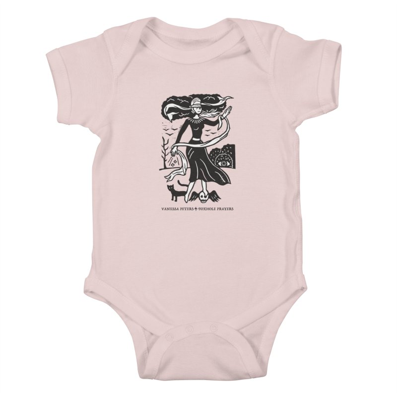 Lady Luck Kids Baby Bodysuit by vanessapeters's Artist Shop