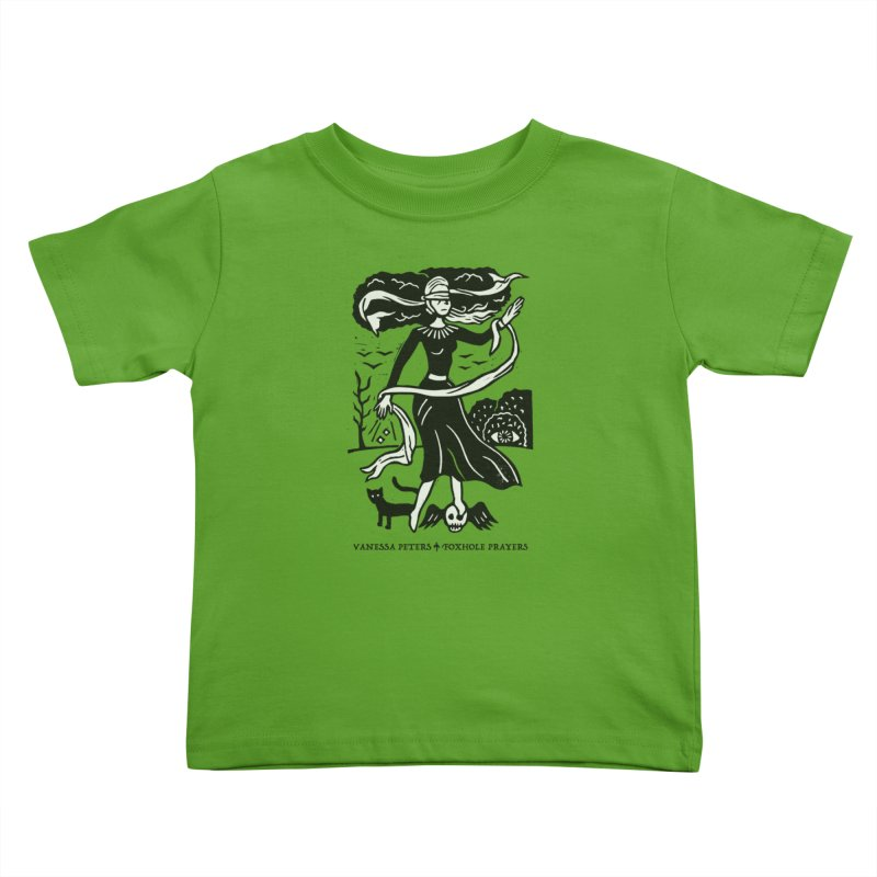 Lady Luck Kids Toddler T-Shirt by Vanessa Peters's Artist Shop