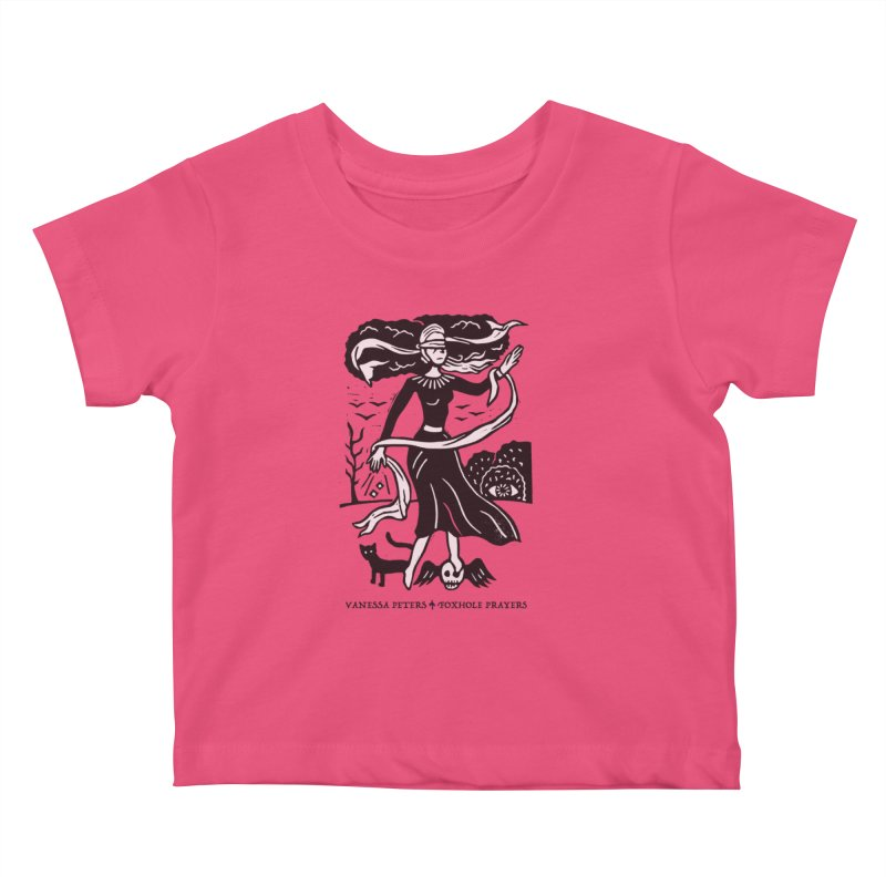 Lady Luck Kids Baby T-Shirt by Vanessa Peters's Artist Shop