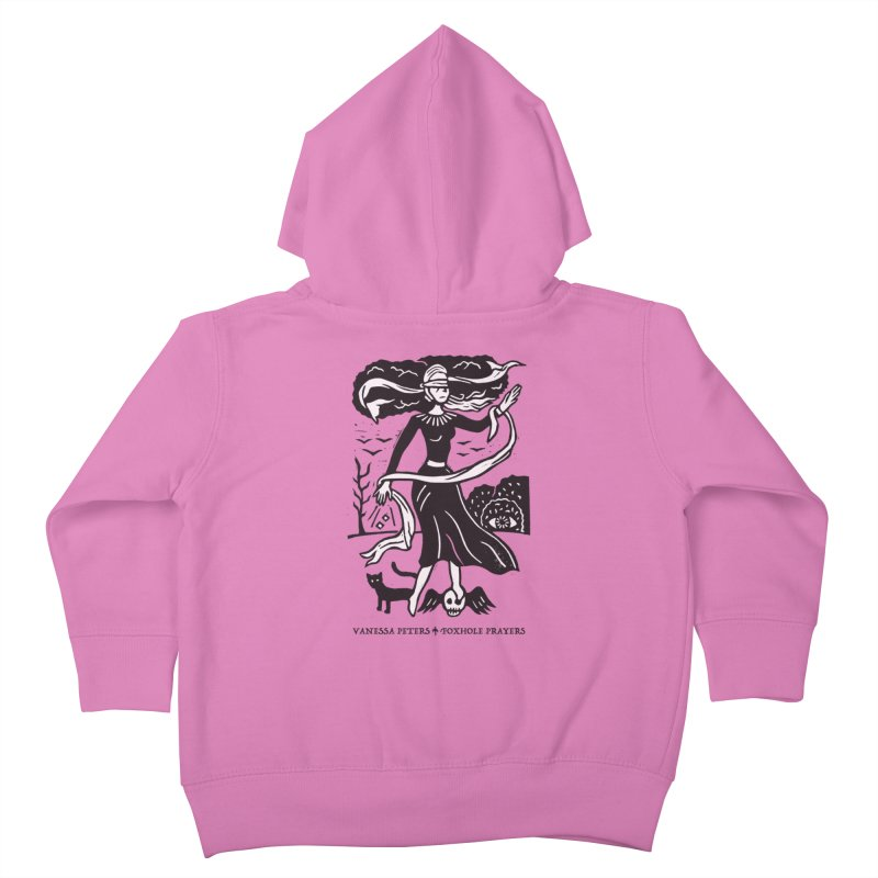 Lady Luck Kids Toddler Zip-Up Hoody by Vanessa Peters's Artist Shop