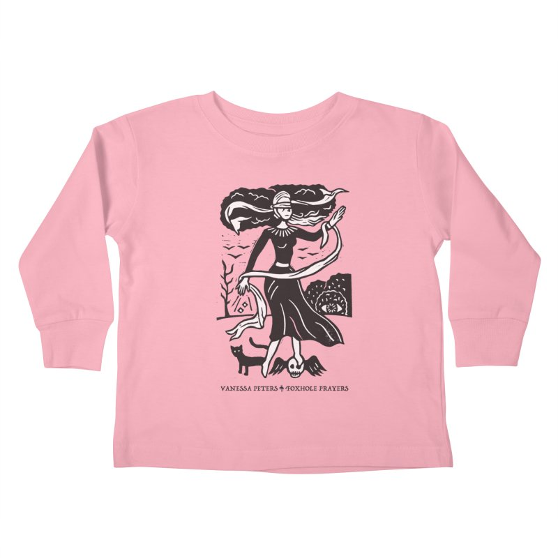 Lady Luck Kids Toddler Longsleeve T-Shirt by Vanessa Peters's Artist Shop