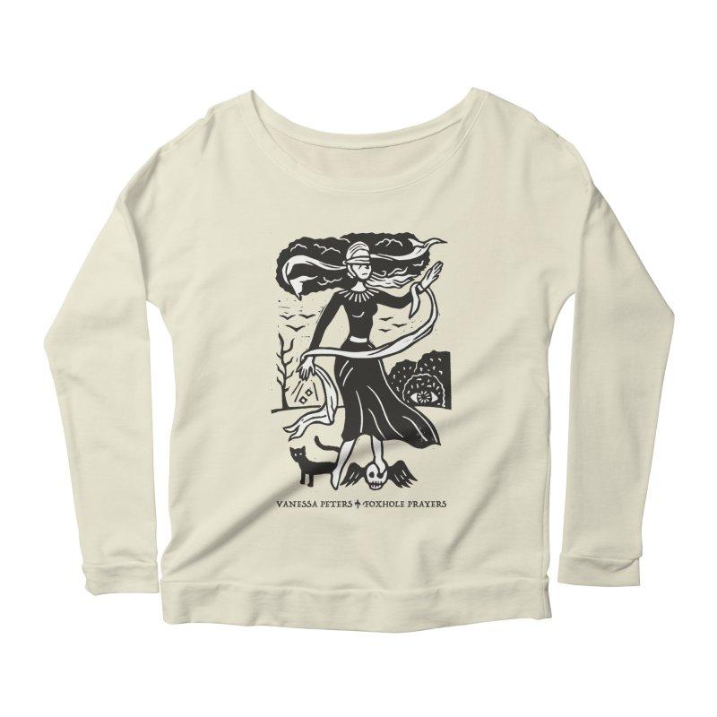 Lady Luck Women's Scoop Neck Longsleeve T-Shirt by Vanessa Peters's Artist Shop