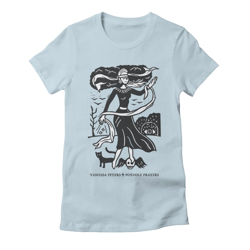 Lady Luck Women's Fitted T-Shirt by Vanessa Peters's Artist Shop