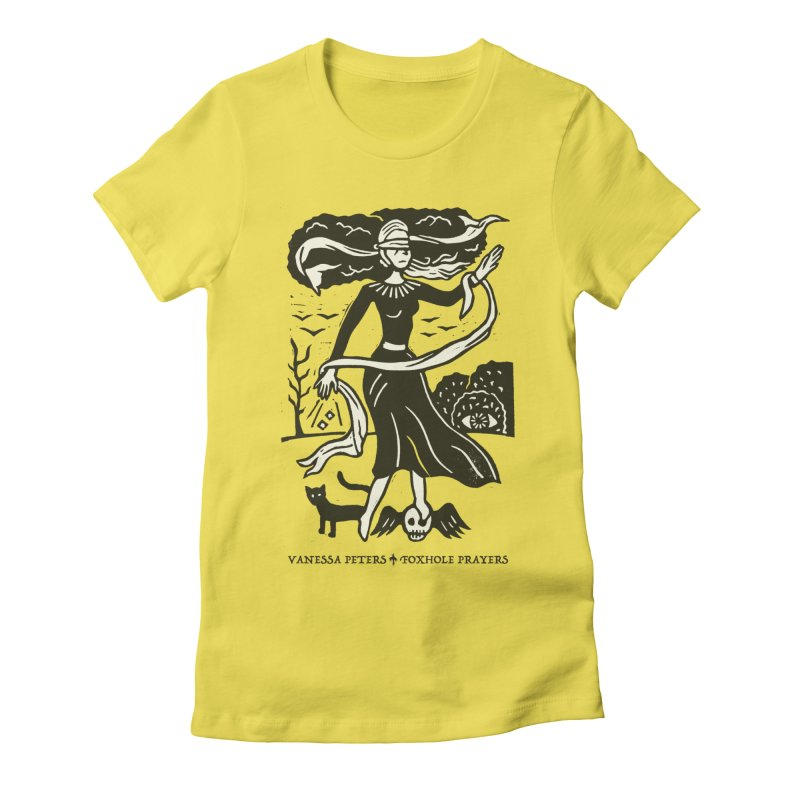 Lady Luck Women's T-Shirt by Vanessa Peters's Artist Shop