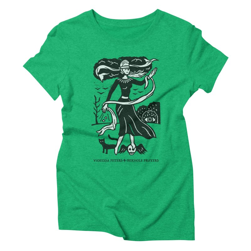 Lady Luck Women's Triblend T-Shirt by Vanessa Peters's Artist Shop