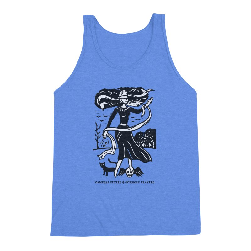 Lady Luck Men's Triblend Tank by Vanessa Peters's Artist Shop