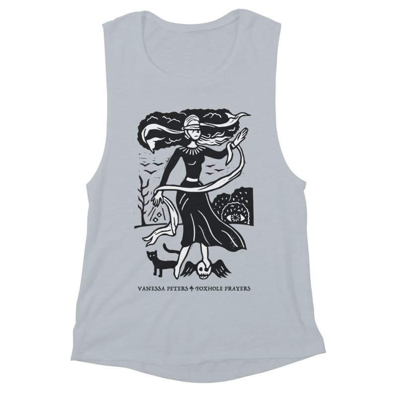 Lady Luck Women's Muscle Tank by Vanessa Peters's Artist Shop