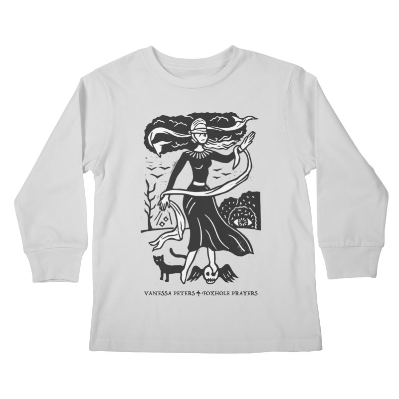 Lady Luck Kids Longsleeve T-Shirt by Vanessa Peters's Artist Shop