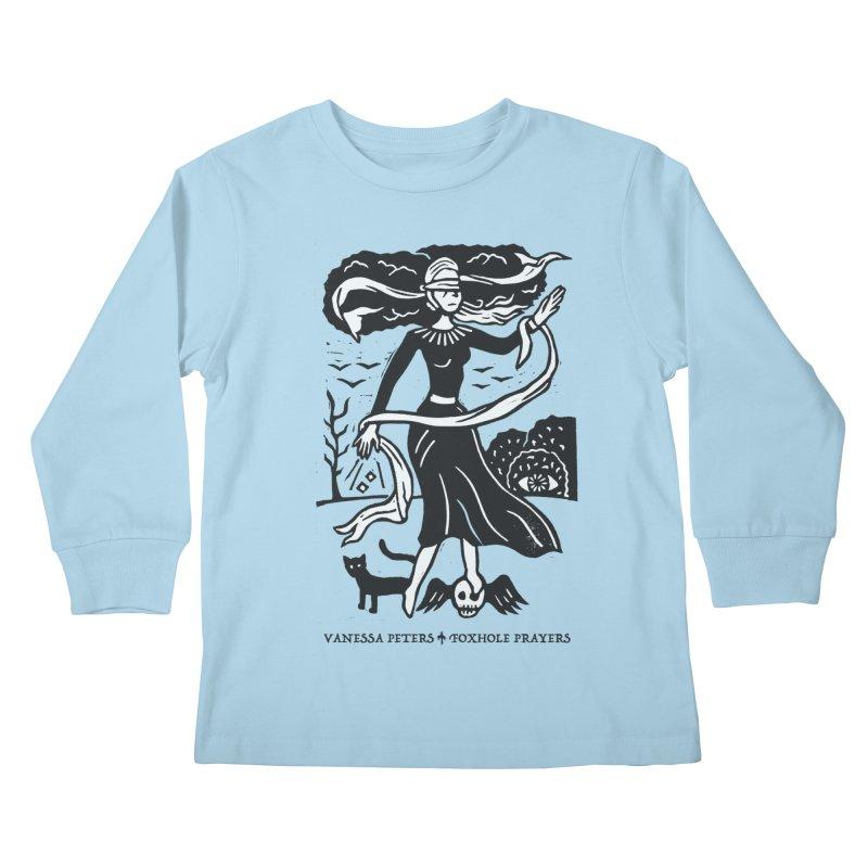 Lady Luck Kids Longsleeve T-Shirt by vanessapeters's Artist Shop