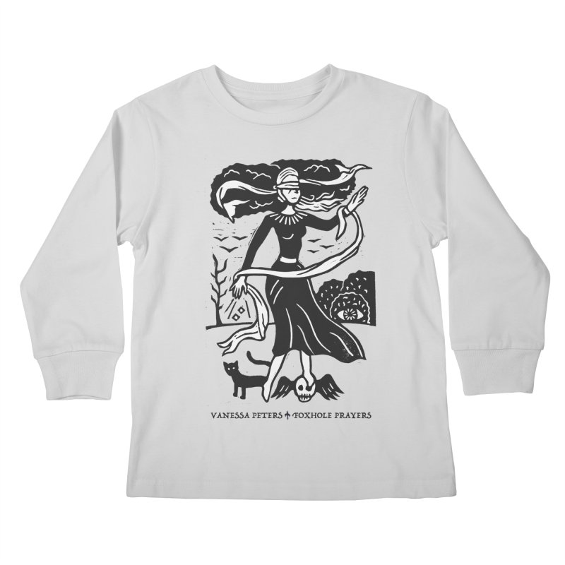 Lady Luck Kids Longsleeve T-Shirt by Vanessa Peters's Artist Shop