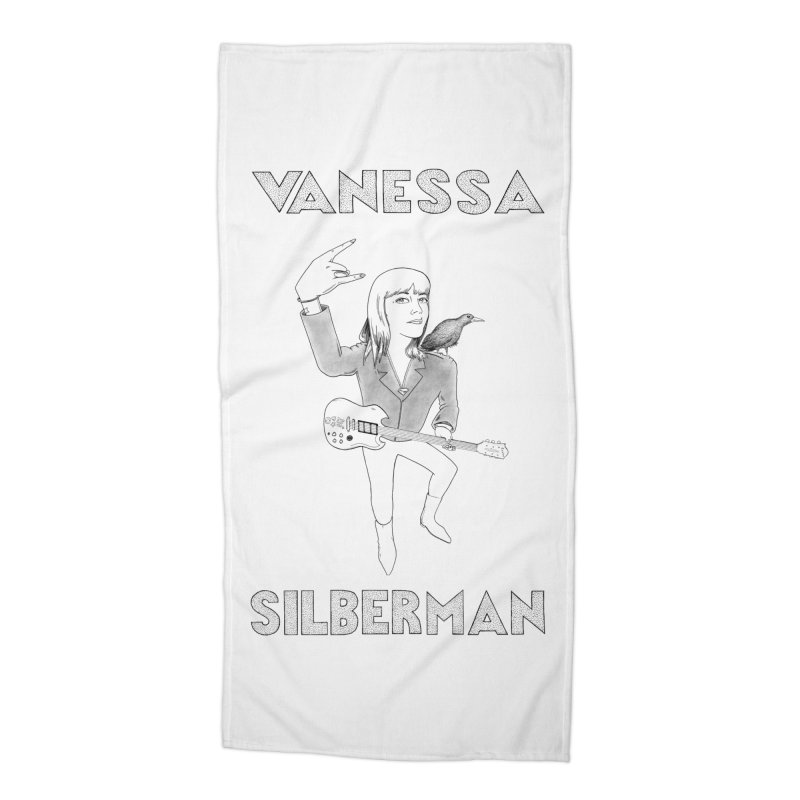 VANESSA SILBERMAN (Limited Edition Keith E. Lee Design) Accessories Beach Towel by Vanessa Silberman's Official Merch Shop