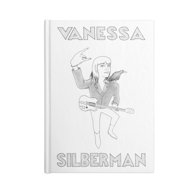 VANESSA SILBERMAN (Limited Edition Keith E. Lee Design) Accessories Blank Journal Notebook by Vanessa Silberman's Official Merch Shop