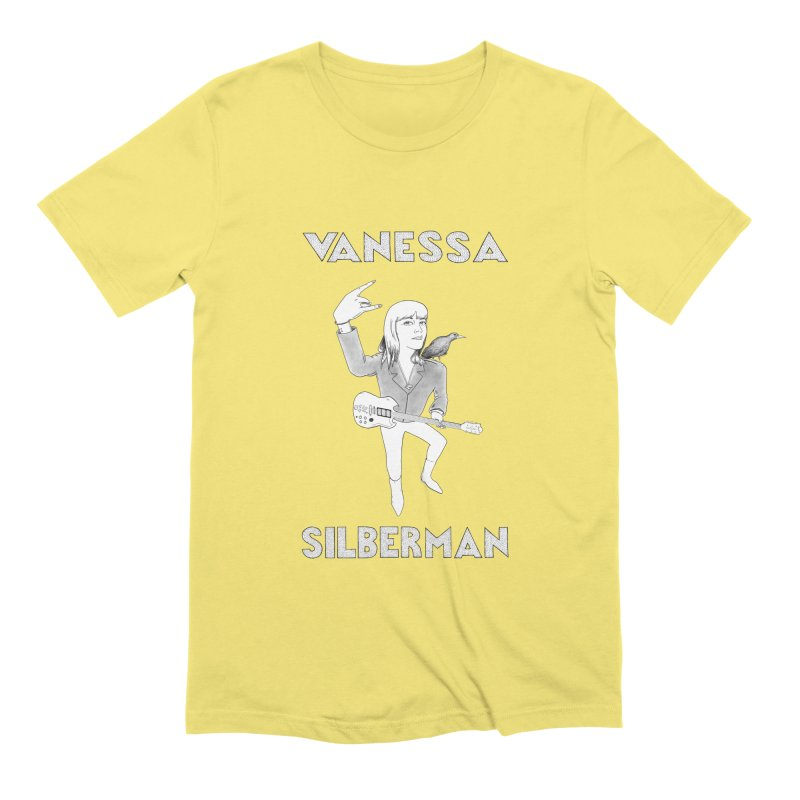 VANESSA SILBERMAN (Limited Edition Keith E. Lee Design) Men's Extra Soft T-Shirt by Vanessa Silberman's Official Merch Shop