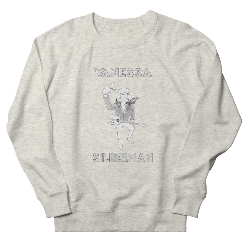 VANESSA SILBERMAN (Limited Edition Keith E. Lee Design) Men's French Terry Sweatshirt by Vanessa Silberman's Official Merch Shop