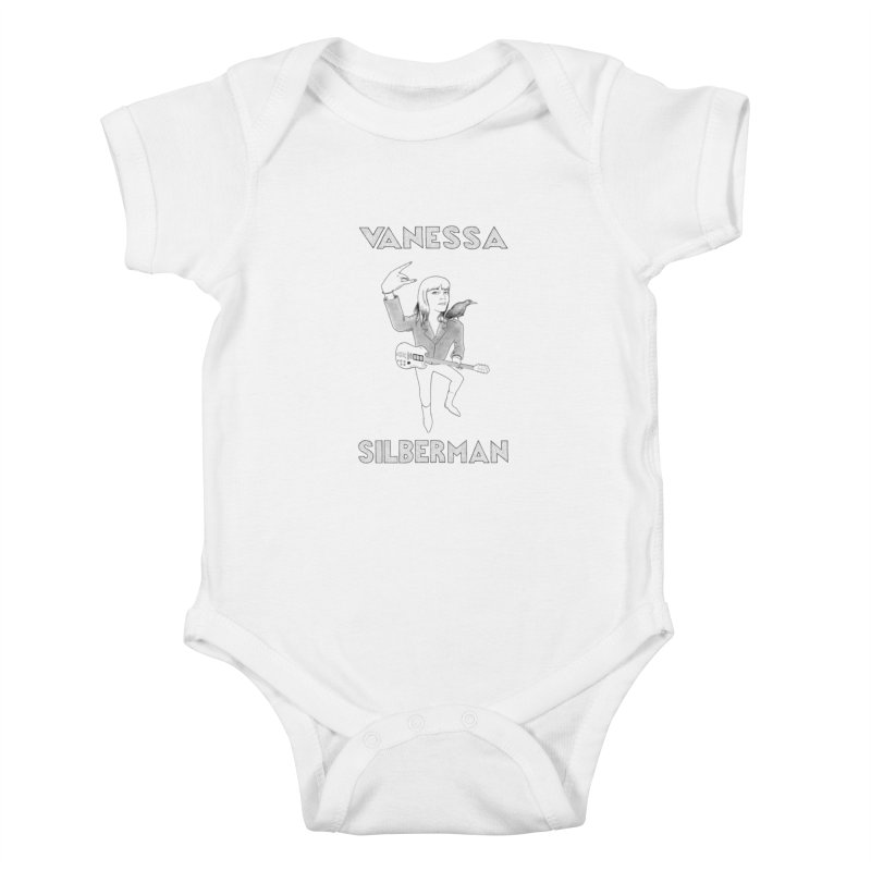 VANESSA SILBERMAN (Limited Edition Keith E. Lee Design) Kids Baby Bodysuit by Vanessa Silberman's Official Merch Shop