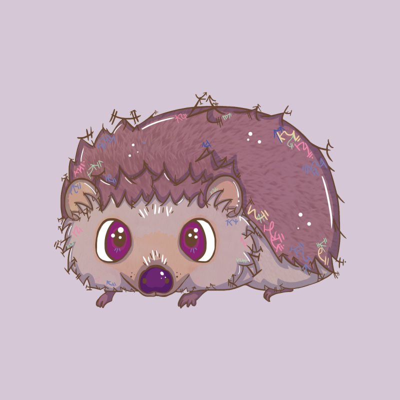 Happiest Little Hedgehog by VanillaKirsty's Artist Shop