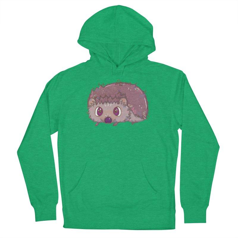 Happiest Little Hedgehog Women's Pullover Hoody by VanillaKirsty's Artist Shop
