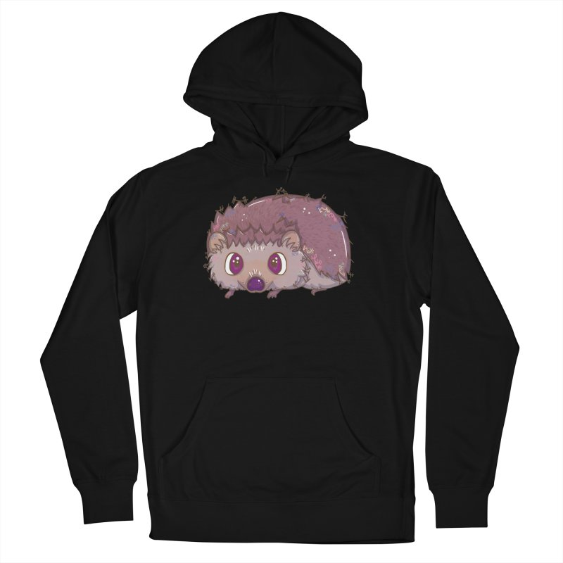 Happiest Little Hedgehog Women's Pullover Hoody by VanillaKirsty's Artist Shop